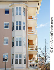 Balconies and Bay Windows - Luxury Condominiums with Bay...