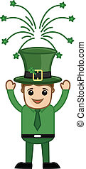 Happy St. Patrick's Day Leprechaun