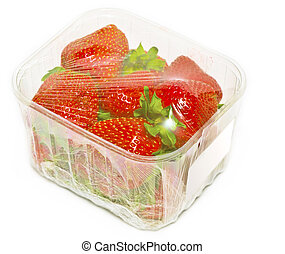 strawberry - packed strawberry