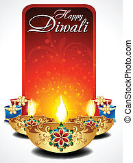 abstract dilwali background