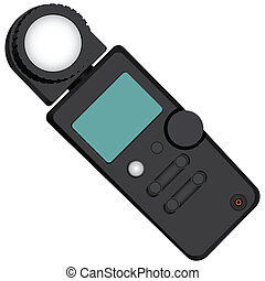 Lightmeter - Exposure meter - a device for measuring the...