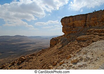 Makhtesh Ramon Crater, Israel - Makhtesh Ramon Crater - the...