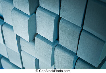 Pattern background of eva foam cut