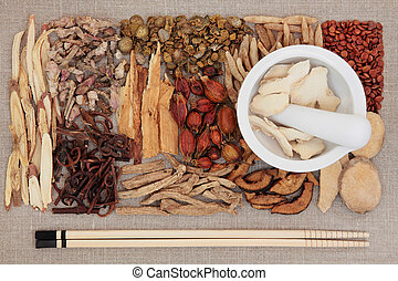 Traditional Chinese Medicine - Chinese herbal medicine...