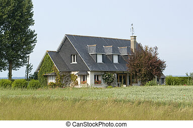 House in France - a house in Lower Normandy (France) at...