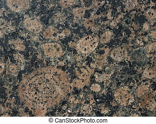 Polished marmor surface with black and reddish areas - to be...
