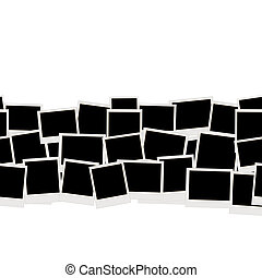 Photo frames, seamless pattern for your design