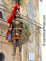 Sicilian Puppet - theater typical of the Sicilian tradition