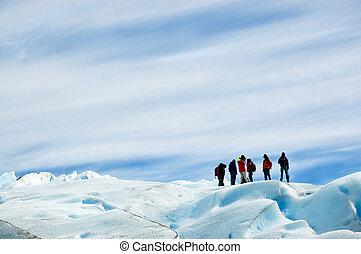 Ice trekking, patagonia argentina - Ice trekking in perito...