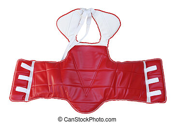 TKD Chest Gear - Martial Arts Sparring Gear Chest Guard...
