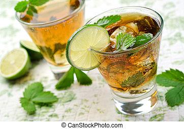 Cuba Libre - A delicious, refreshing Cuba Libre with lime...