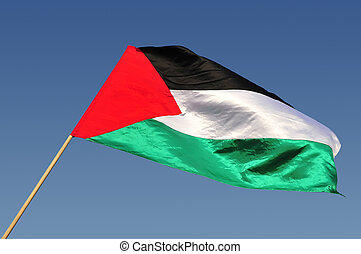 Palestinian flag - The flag of the Palestinian people.