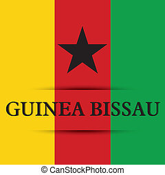 Guinea Bissau text on special background allusive to the...