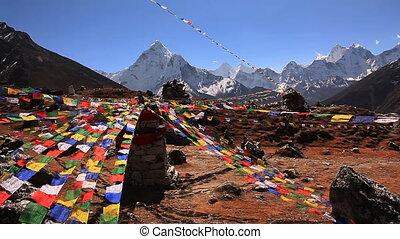 Snow Peak Multicolored Flags
