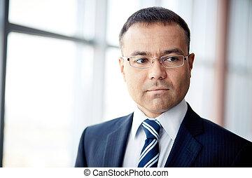 Mature businessman - Portrait of confident businessman in...
