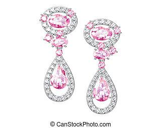 The beauty earrings