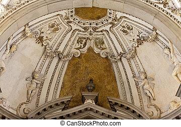 Paolo,  e,  Giovanni, Venecia,  interior, iglesia,  santi