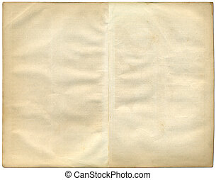 Two vintage pages from an