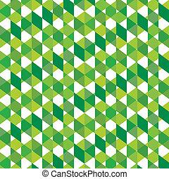 creative design pattern - creative green square design...