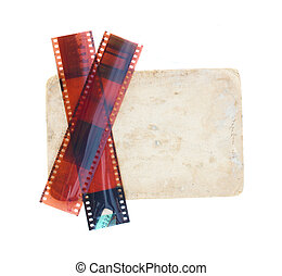 old photo with films