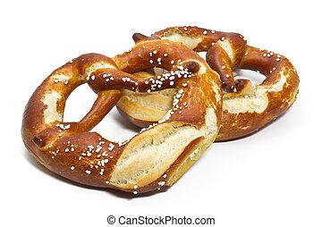típico, Bávaro, pretzels