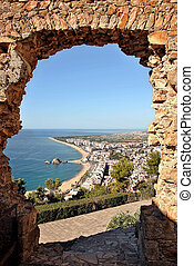 Blanes in Costa Brava - Costa Brava town of Blanes called....