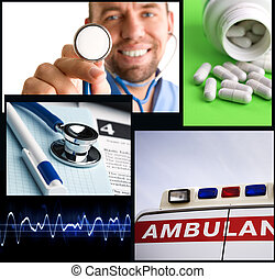 medical concept - made from my images and photos, great for...