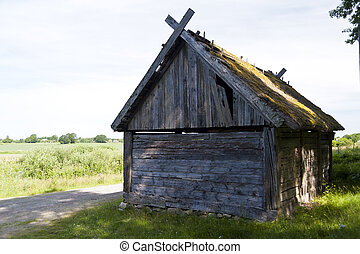 Old Shed in southern Sweden