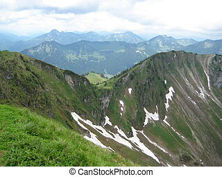 Rotwand - picture was taken from the summit of Rotwand in...