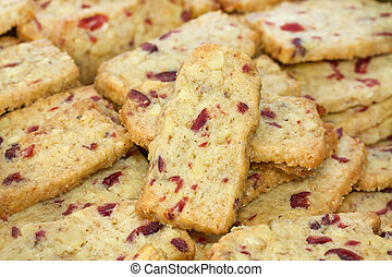 Walnut Cranberry Christmas Cookies, format filling