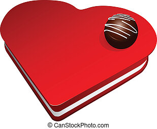 Chocolate candy sets - Chocolate candy of sets on the box....
