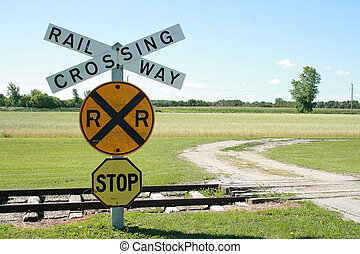 Rural Railway Crossing
