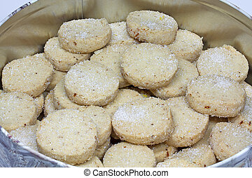 Christmas Cookies in a tin - Christmas Cookies in a tin,...