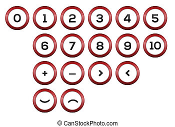 Numbers and symbols - The set of numbers and abstract...