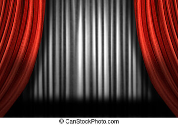 Horizontal Stage Drapes