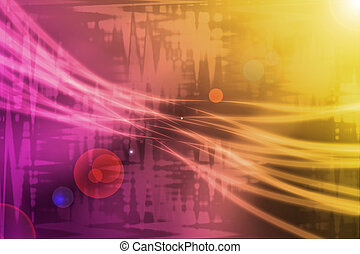 abstract background with light and flare