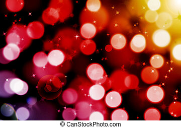 abstract magic bokeh background with flare - abstract magic...