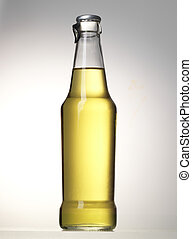 bottle of alcoholic beer drink
