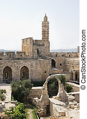 Tower of David - The Tower of David in Jerusalem
