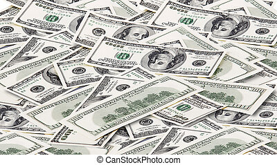 Background with money american dollars - Background with...