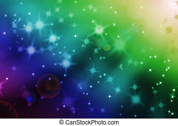 abstract magic light rays background with glowing star...