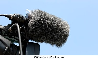 digital video camera microphone