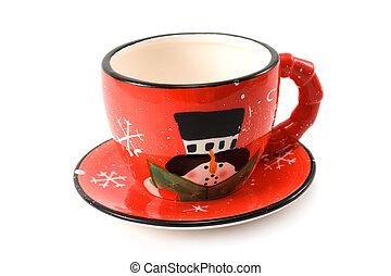 Cups and saucer 3 - Cristmas, cups and saucer, amusing,...
