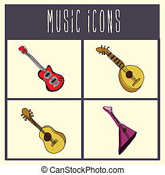 guitars icons