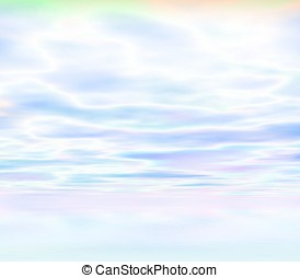 Cloudy Sky Abstract - Abstract Background - 3d rendering of...