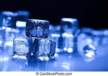 Icecubes - Ice can refer any of the 14 known solid phases of...