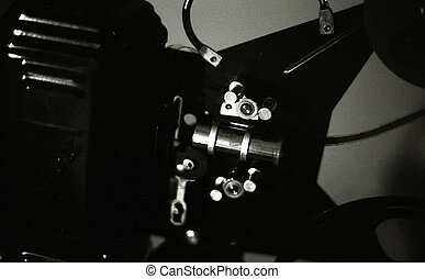 Antique 16mm projector