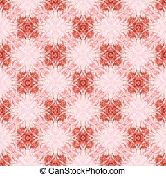Intricate Red Seamless Abstract - Abstract Background -...