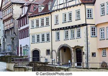 Historic residential houses, Germany - Historic residential...