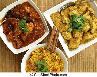 印第安語, 食物